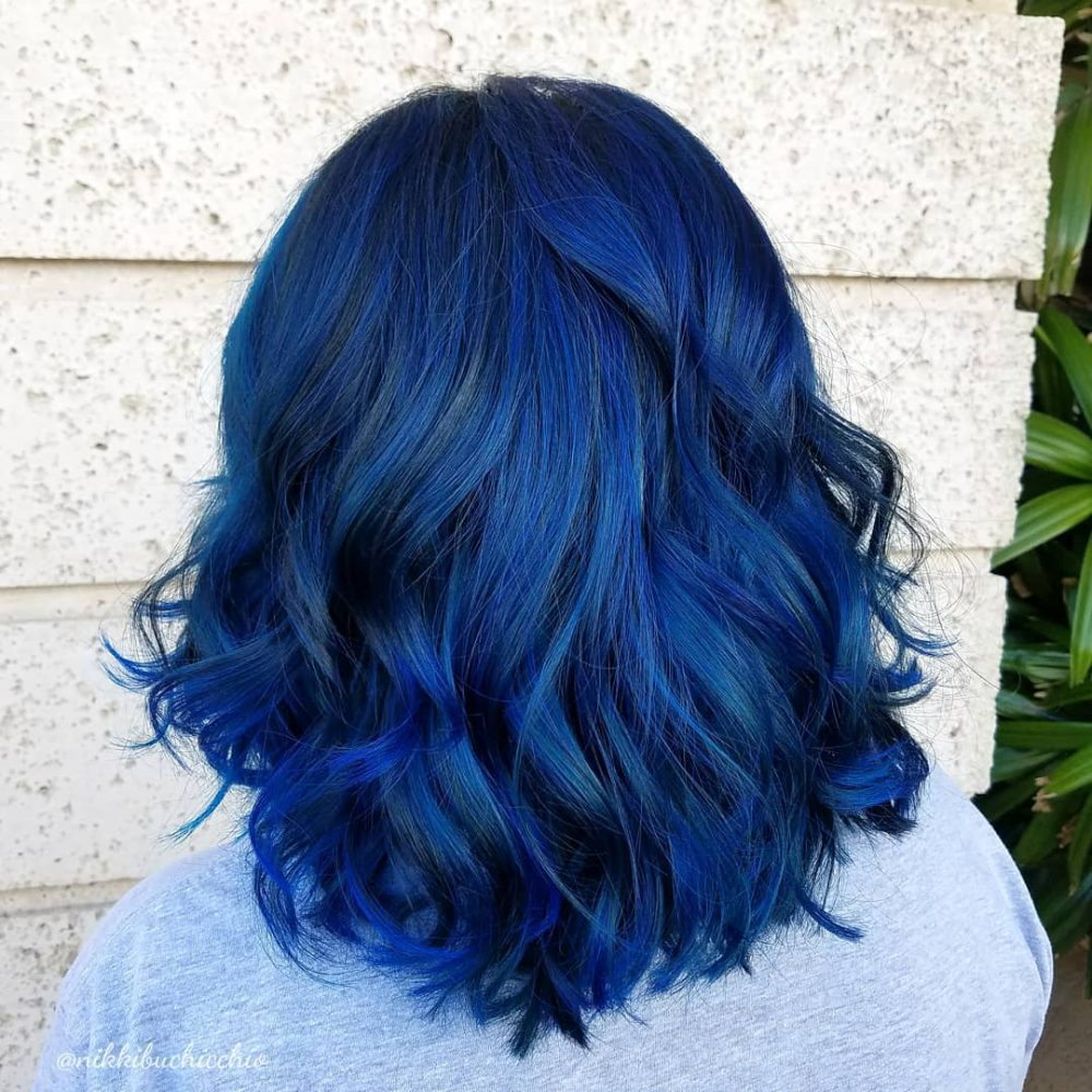 Manic Panic Amplified Rockabilly Blue